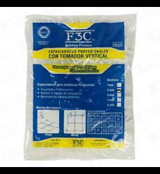 ESPACIADOR 3 MM C/TOMADOR 100 UN