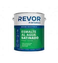Esmalte Al Agua Satin Revor Blanco 1 Gl