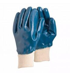Guante Nitrilo Azul Corto  P/tejido