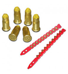 Fulminante Calibre 27 6.8 X 11 Rojo Tira 10 Unid