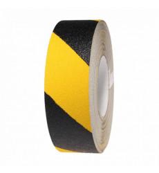 Cinta Antideslizante Amarillo Negro 48mm X 4.5 Mt