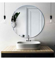 Espejo Oval 60x60cm Bisel 1cm