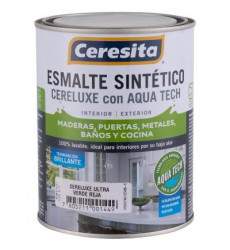 Esmalte Sintetico Cereluxe Ultra Verde Reja 1/4gl