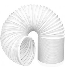 Flexible Plastico Blanco 1.5 Mts