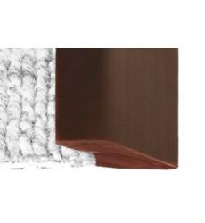 CUBREJUNTA PVC TERMINAL 1 MT CAFE DVP
