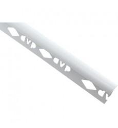 Esquinero 2.5 mts 8 mm Blanco DVP