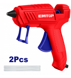 Pistola De Silicona Caliente Eggu1401 Emtop