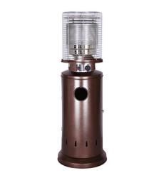 Calefactor De Patio Bajo Bronce P/ Cilindro 11kg