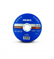 "Disco De Corte Inox Metal 4,5"" - 115x1x22.23 Heiko"
