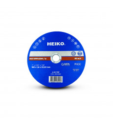 "Disco De Corte Inox Metal 7"" - 180x1,6x22.23 Heiko"