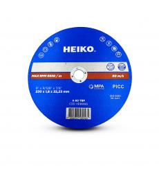 "Disco De Corte Inox Metal 9"" - 230x1,8x22,23 Heiko"