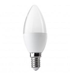 AMPOLLETA LED VELA 7W E14 LUZ CALIDA