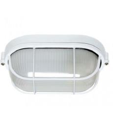 Plafon Tortuga Ovalada Aluminio Reja Blanca Bp