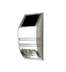 Aplique Muro Exterior Inox Led Solar  Ip44 Bp
