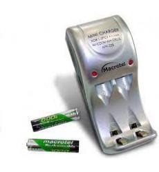 Cargador De Pilas Y Baterias Rapido Incl 2 Pilas