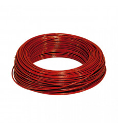 Cable Thhn Rojo 12 Awg Rollo 100 Mts