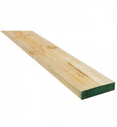"""Pino Dimensionado Verde 1 X 4"""" X 3.2 Mt"""