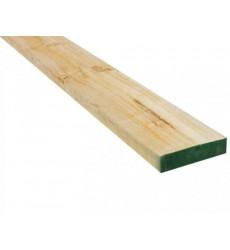 """Pino Dimensionado Verde 1 X 2"""" X 3.2 Mt"""