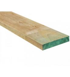 """Pino Dimensionado Verde 1 X 5"""" X 3.2 Mt"""
