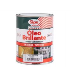 OLEO BRILLANTE BLANCO 1/4 GALON GALON SIPA