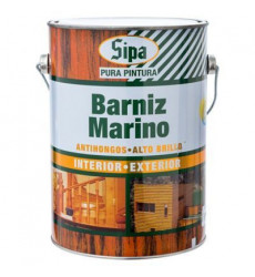 BARNIZ ANTIHONGOS CAOBA 1/4 GALON SIPA