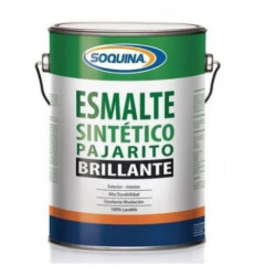 Esmalte Sintetico Pajarito Gris Maquina Gl