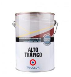 PINTURA ALTO TRAFICO AL AGUA AMARILLO GALON TRICOLOR