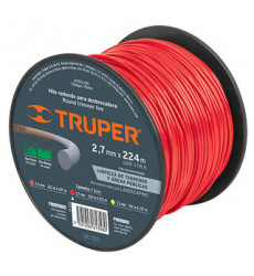 Nylon  P/ Orilladora  2.70 Mm X 12 Mts. N Truper