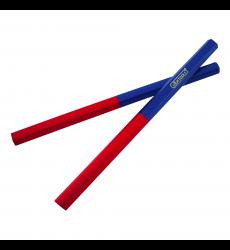 Lapiz Bi Color ( Rojo/azul)    Grueso Uyustools